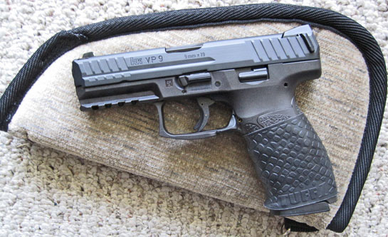 H&K VP9 with Black TUFF1 Boa Grip ~ from B.W.