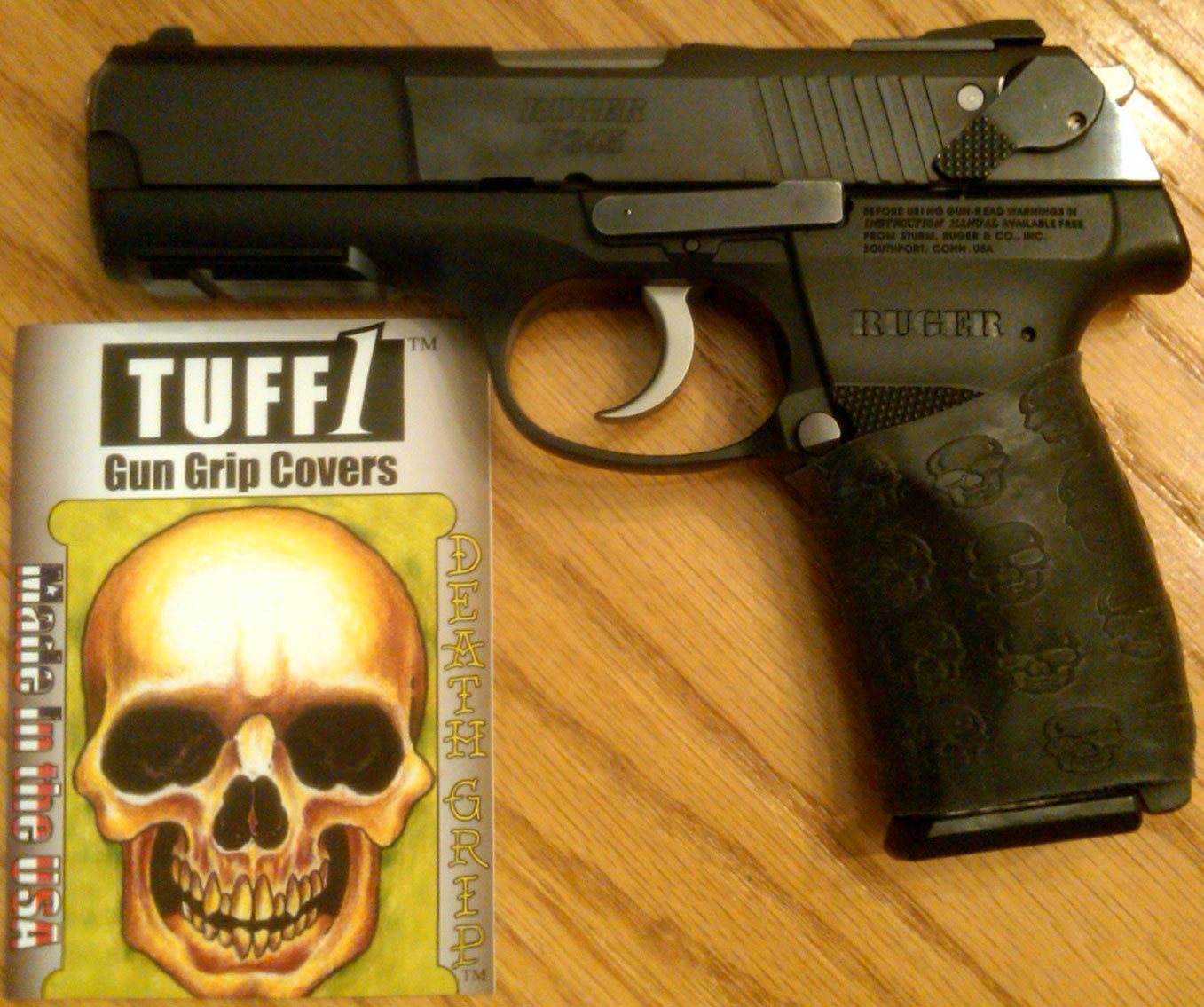 Ruger P345 with Black TUFF1 Death Grip