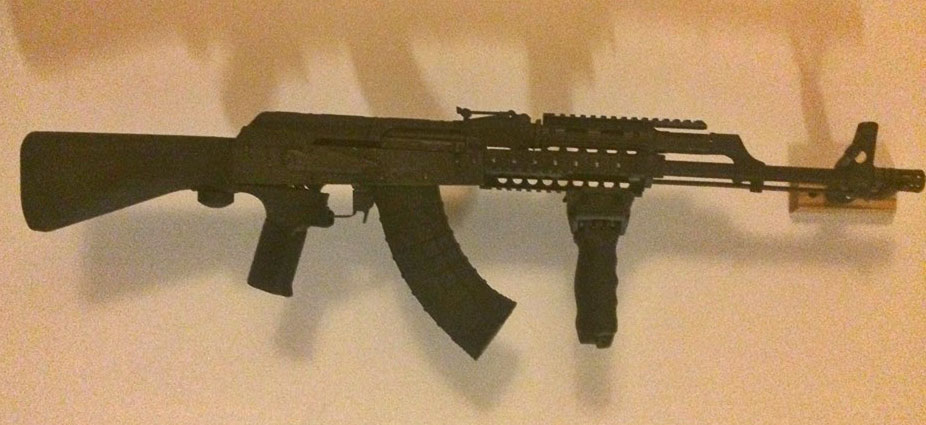 TUFF1 Black Boa on tricked out AK ~ from C.S.C.
