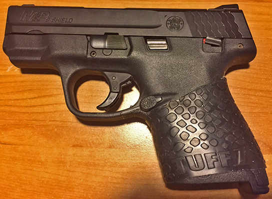 M&P Shield 9mm with TUFF1 Black Boa Grip from J.M.