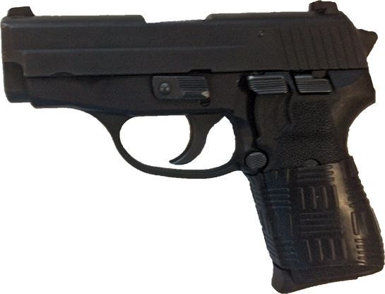Sig P239 with TUFF1 Black Double Cross