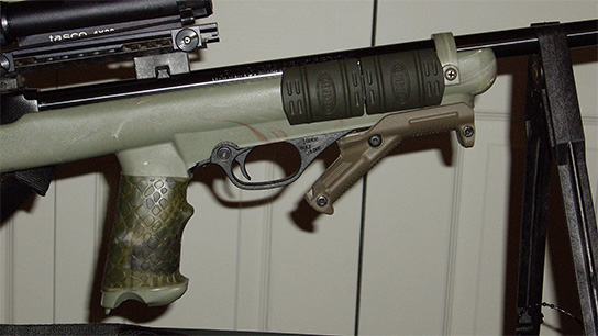 "I really like TUFF1 Grip Covers. This is my second one. This is a Marlin 795 with a Camo Badger M22 stock and a couple of other things."" ~M.M."