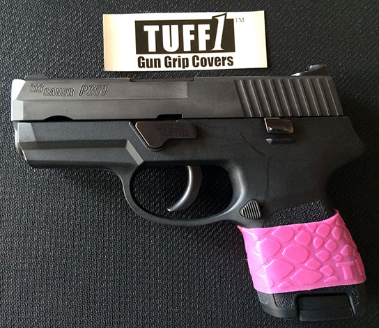 TUFF1 Pink Boa on Sig P250 from ~J.J.