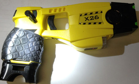 This is my Duty issued Taser I hope you like it as much as I do