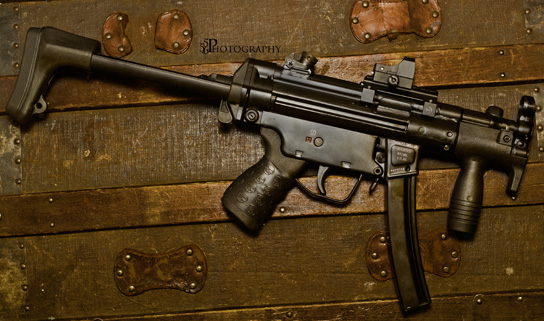 POF MP5K with Black TUFF1 Death Grip - from B.P.
