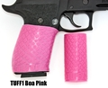 TUFF1 Boa texture in Pink on Sig