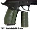 TUFF1 Death Grip texture in OD Green on Sig