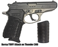 Picture of TUFF1 Bersa Black Grip Cover