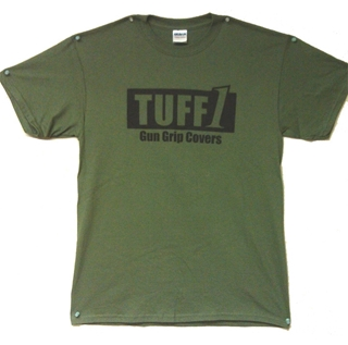 Picture of TUFF1  Grip This T-Shirts OD Green