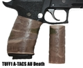 TUFF1 Death Grip texture in ATACS CAMO Acrid Urban (AU) on Sig