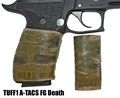 TUFF1 Death Grip texture in ATACS CAMO Foliage Green (FG) on Sig