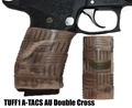 TUFF1 Double Cross texture in ATACS CAMO Acrid Urban (AU) on Sig