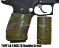 TUFF1 Double Cross texture in ATACS CAMO Foliage Green (FG) on Sig