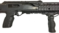 Hi-Point Carbine with TUFF1 fore and rear grip covers