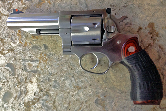Ruger Redhawk .45 ACP with Black TUFF1 Double Cross Grip sent in by D.B.